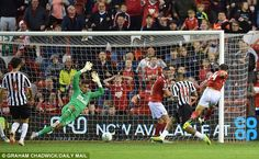 Matty Cash scored in the in stoppage time to deny Newcastle a penalty shootout Watch Football, Football Match, Newcastle United Fc, Manchester United, Van Persie, Nottingham Forest, Happy Moments, In This Moment, Photo And Video