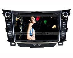 Hyundai i30/ Hyundai Elantra GT android radio, car DVD player with 7 inch touch screen, GPS navigation with dual zone function, built in Wifi, support USB 3G Internet access, support virtual disc, digital TV tuner (DVB-T MPEG-2 or MPEG-4, ATSC M/H or ISDB-T for optional to suit for customers from different areas), Radio with RDS, Bluetooth, iPod, AUX, USB, SD, iPod, Support 1080 HD video, support live wallpapers and personalized wallpaper, CAN Bus to support factory amplifier