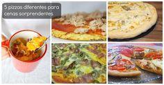 5 recetas de pizzas diferentes para cenas sorprendentes
