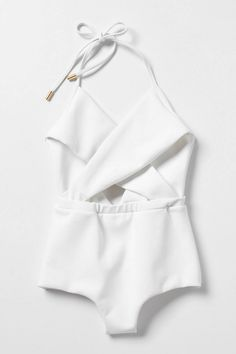 Fabulous white swimsuit