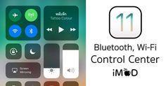 iOS 11 Beta แตะที่ไอคอน Bluetooth, Wi-Fi ที่ Control Center แล้วเปิด-ปิดไม่ได้   .. Apple อาจตั้งใจทำมาเพื่อเชื่อมต่อและตัดการเชื่อมต่อ  (Connect / Disconnect) เท่านั้น  Mod-T  #iMod #iOS11 #Beta #ไอโอเอส11 #ControlCenter