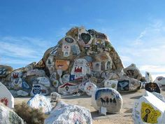 Barstow, California. I haven't seen this in my family visits. If I ever have to go again I'd like to see it.