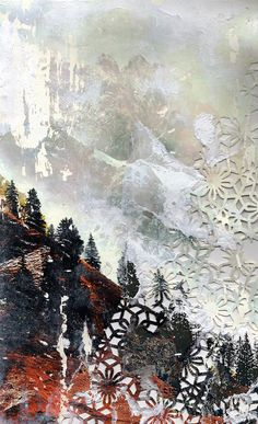 Cloudy Mountainscape by Elise Wehle | 2013 Art Design Challenge Winner | UncommonGoods