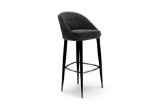 MALAY | Modern Bar Chair by BRABBU, contemporary home furniture, classic contemporary furniture, modern classic sofa, contemporary loft furniture design | See more http://brabbu.com/en/upholstery/malay-bar-chair.php