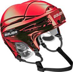 Bauer 5100 Ice Hockey Helmet, Red