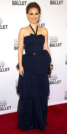 Natalie Portman in Dior at the New York City Ballet Spring Gala! She looked lovely.
