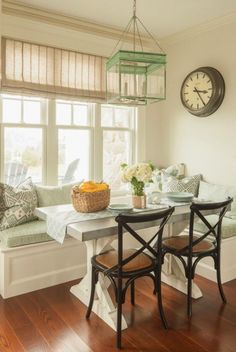 Breakfast Nook Design Ideas-42-1 Kindesign