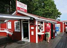 Chauncey Creek Lobster Pier | Kittery Point, Maine Lobster Shack ...