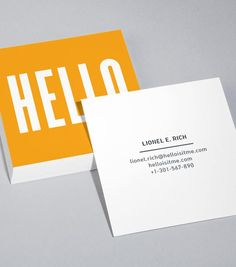 Moo, square business cards... $150 for 400ish Browse Square Business Card Design Templates
