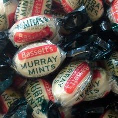 Murray Mints ...too good to hurry mints, remember those television adverts!