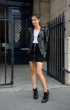 Strike a pose: Barbara Martelo