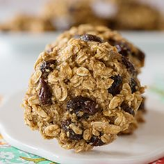 Skinny Banana Bread Cookies. These are so yummy and healthy too!