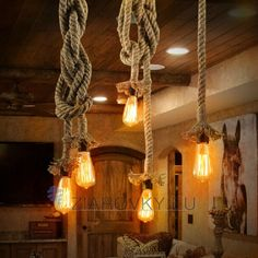 rope light fixture on sale at reasonable prices, buy Vintage Rope Pendant light Hemp Edison bulb Decor pendant Lamp Kitchen dining room DIY hand knitted hanglamp light fixture from mobile site on Aliexpress Now! Wicker Pendant Light, Rope Pendant Light, Cheap Pendant Lights, Pendant Light Fixtures, Pendant Lamps, Globe Pendant, Industrial Ceiling Lights, Vintage Industrial Lighting, Industrial Style