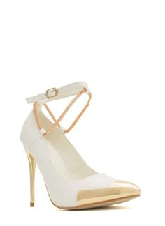 all white on Pinterest | White Wedge Heels, Popular Shoes and ...