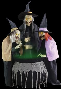 #Stitch #witch #sisters animated halloween prop,  View more on the LINK: http://www.zeppy.io/product/gb/2/252453135104/