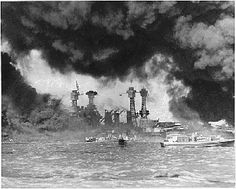 First wave of attack on Pearl Harbor