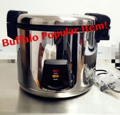 Buffalo 6L Large Capacity Commercial Rice Cooker Restaurant/Take Away/Pub/Hotel