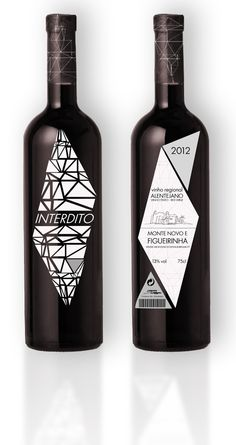 The image of Interdito's wine on its red and white versions seeks to explore all graphic bottle elements for its identity construction.  Through this concept its materialization was based on a geometric composition where label, back label and wrapper are appropriated, leading to enjoy all senses during Interdito consumption.