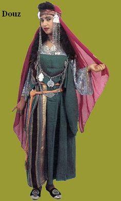 Traditional costume of Douz, Tunisia