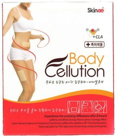 Skinae  Body Cellution Patented 8-hour Intensive Care 1 Box (5 Patches)