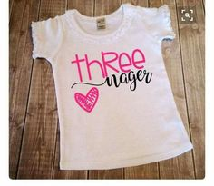 Third Birthday Girl 3 Year Old Party Trolls Princess