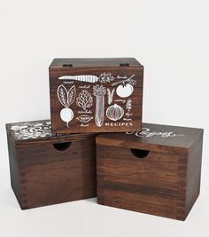 Heirloom Recipe Card Box - Floral