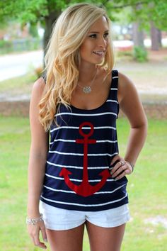 Simply Anchored Tank