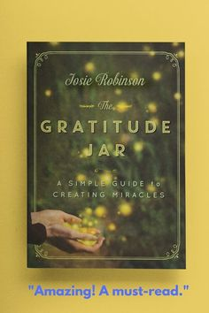 Chicken Soup for the Soul meets The Secret in this life changing book about the power of prayer and gratitude. The Gratitude Jar: A Simple Guide to Creating Miracles is a beautiful, heartwarming story for anyone who needs a little TLC right now❤ Gratitude Book, Deepest Gratitude, Practice Gratitude, Gratitude Quotes, Attitude Of Gratitude, Little Books, Good Books, Books To Read, I Need A Miracle