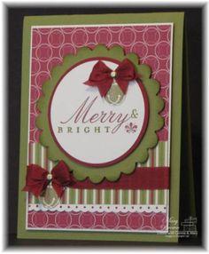SU Jolly Bingo Bits - bells, Bright Christmas