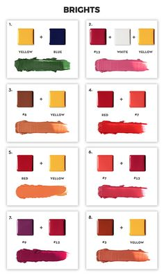 Skin Color Chart Beverly Hills 47 Ideas For 2019 Skin Color Chart, Color Mixing Chart, Abh Lip Palette, Lip Palettes, Combination Skin Care, Dark Spots On Skin, Makeup Is Life, Lip Swatches, All Things Beauty
