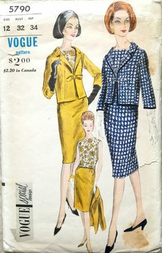 Vogue 5790 sewing pattern