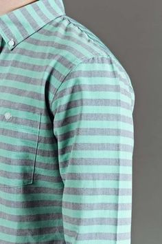seeing: stripes/mint | #menswear