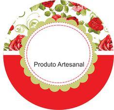 Rótulos para produtos Artesanal