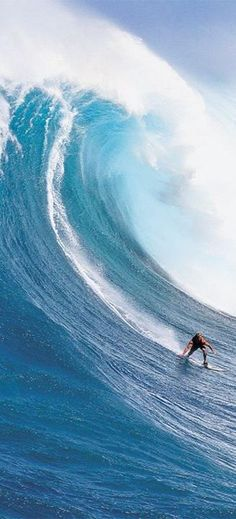 Winter time in Hawaii and the swells really rock!