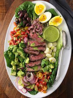 Steak Salad | Inspiration for Everyday Food Made Marvelous (No Crumbs Left)