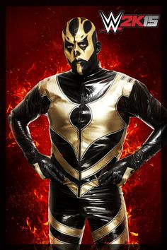 WWE2K15_Goldust My husband halloween costume...ya lol