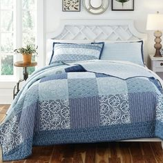 Shop for KD Spain Horizon 3-piece Cotton Quilt Set. Get free delivery at Overstock.com - Your Online Kids'