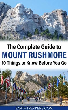 Everything you need to know to plan the perfect visit to Mount Rushmore. Includes ideas on what to do in the Black Hills of South Dakota. #mountrushmore #southdakota #rushmore South Dakota Vacation, South Dakota Travel, North Dakota, North America, Vacation Trips, Vacation Spots, Vacation Ideas, Vacations, Custer State Park
