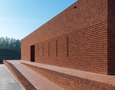 Image 14 of 21 from gallery of Pavilion Brick Factory Vogelensangh / Bedaux de Brouwer Architects. Photograph by Michel Kievits