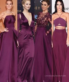 Which is your favorite purple dress, or Long Bridesmaid Dresses, Prom Dresses, Formal Dresses, Wedding Dresses, Bridesmaids, Only Fashion, Fashion Show, Fashion Today, Women's Fashion