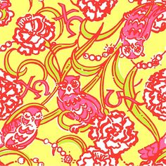 """Lilly Pulitzer """"Chi Omega"""" print. Picture Yourself in Paradise at www.floridanest.com"""