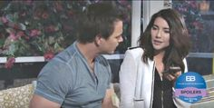 """The Bold and the Beautiful"" spoilers for Friday, June 10, tease that Steffy (Jacqueline MacInnes Wood) and Wyatt (Darin Brooks) will get some startling news. Liam (Scott Clifton) will call them with updates on his recent break-in. Wyatt will ask if his mother came over again, but Liam will inform t"