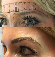 Before and after microblading results. #micbroblading #permanentcosmetics #permanentmakeup #tattoo #eyebrow #brows #beauty #makeup #beforeandafter #photo #clientphoto