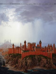 Red Keep at Kings Landing by Ted Nasmith