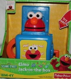 Elmo jack in the box