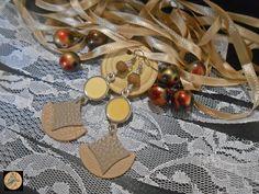 Geometrical Earrings Leather Boho Earrings Hippie Style Modern earrings Leather Accessories Geometric Handmade Bohemian Jewelry by Neda Hippie Bohemian, Bohemian Jewelry, Hippie Style, Unique Jewelry, Artistic Wire, Handmade Items, Handmade Gifts, Leather Accessories, Boho Earrings