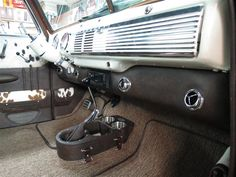 1953 Chevrolet Truck Leather Custom Interior Interiors by Shannon 1951 Chevy Truck, Lifted Ford Trucks, Gm Trucks, Chevrolet Trucks, Custom Car Interior, Truck Interior, Chevy 3100, Chevy Pickups, Car Interior Upholstery
