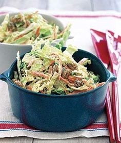 Coleslaw With Caraway and Raisins   Get the recipe for Coleslaw With Caraway and Raisins.