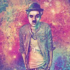 Art: #Chaplin : Fine Art Print : Fab Ciraolo