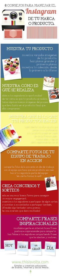 6 consejos para optimizar la página de #Instagram de tu producto www.thisisvolta.com